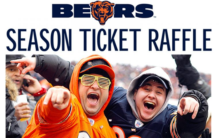 Chicago Bears Season Ticket Raffle